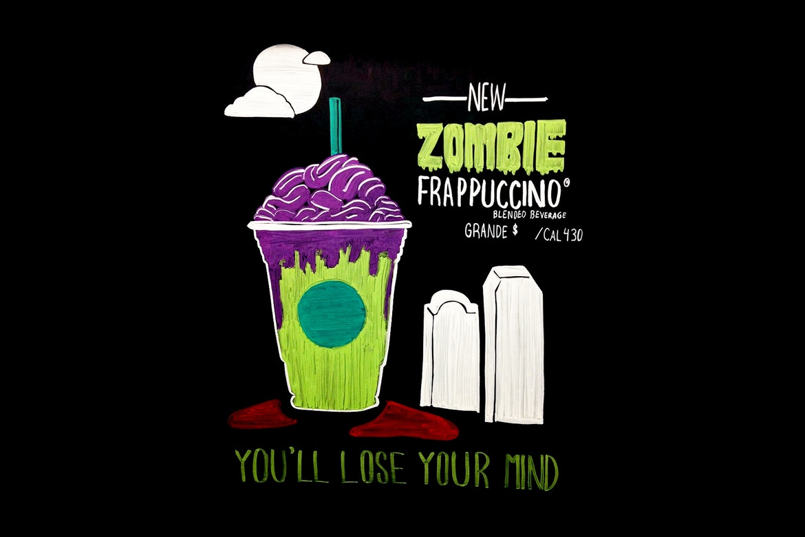 Starbucks will release the Zombie Frappuccino to boost employer brand.
