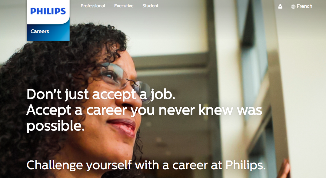Check Out Philips' New Career Site, Powered by Phenom People