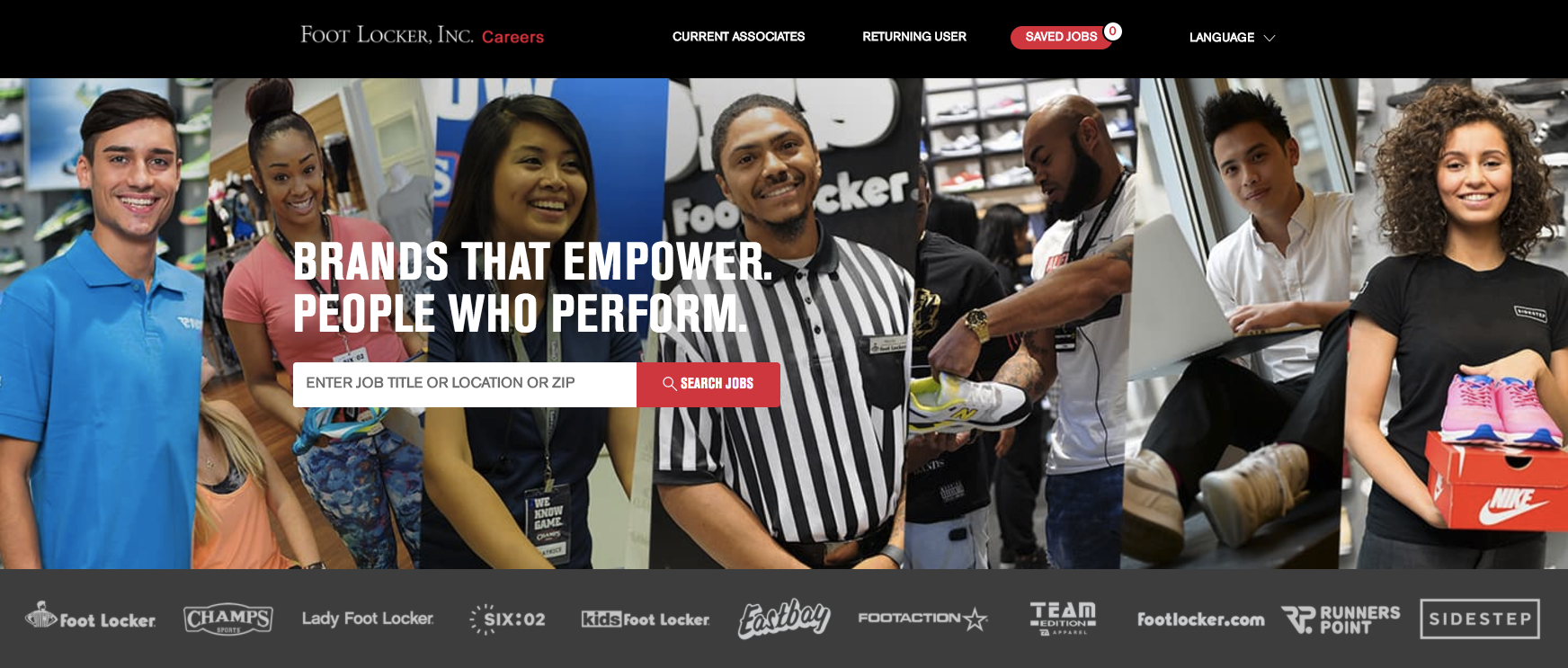 Foot Locker's Career Site Powered by Phenom People