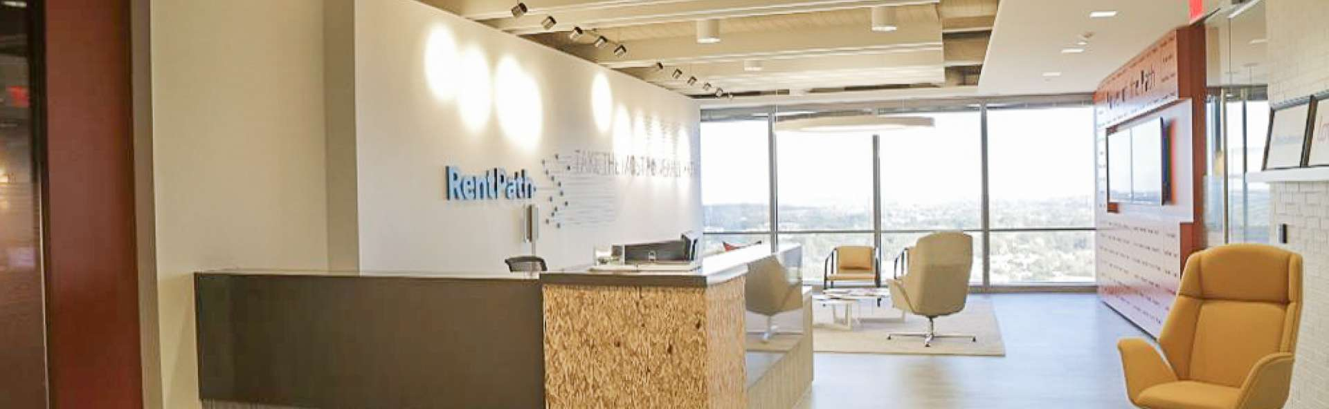 RentPath's front office at their headquarters